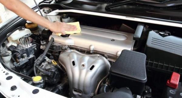 авто, двигатель, чистка