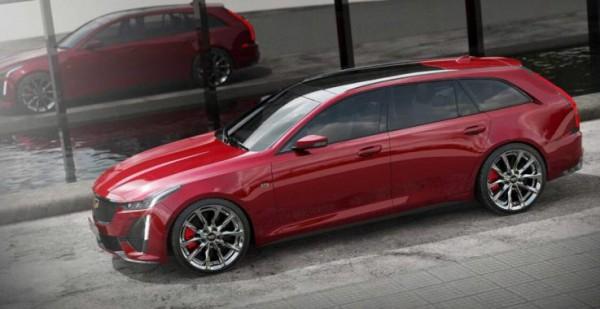 Cadillac CT5 Sport Wagon, универсал, рендер