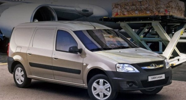 Lada Largus CNG, фургон