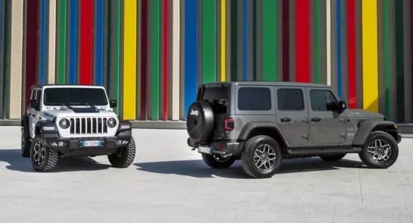 Jeep Wrangler 4xe, гибридный