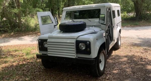 Land Rover Defender, бронированный