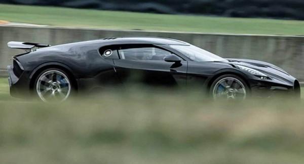 Bugatti La Voiture Noire, гиперкар, тизер