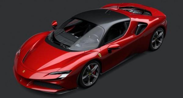 Ferrari, суперкар, гибрид