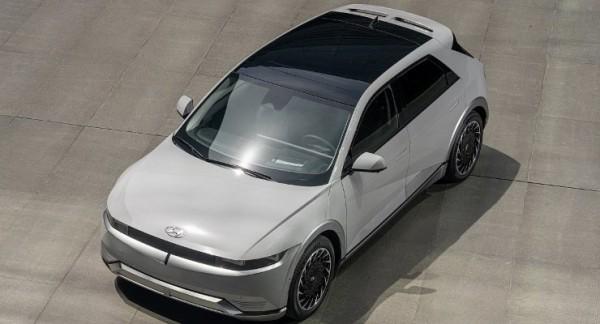 Hyundai Ioniq 5 2022 года, элетрокроссовер