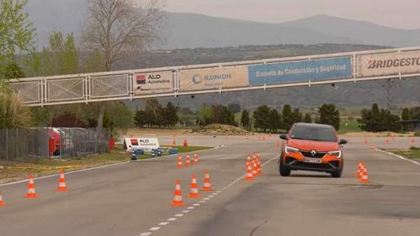 Renault Arkana, лосиный тест