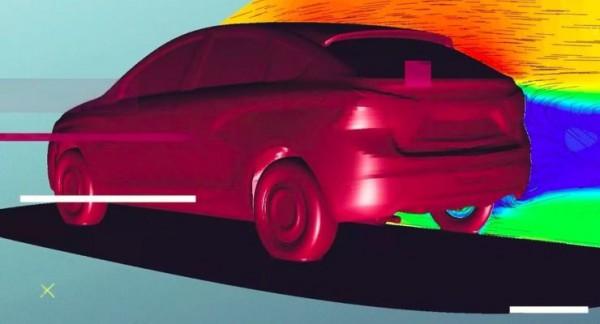 Lada Vesta, купеобразный