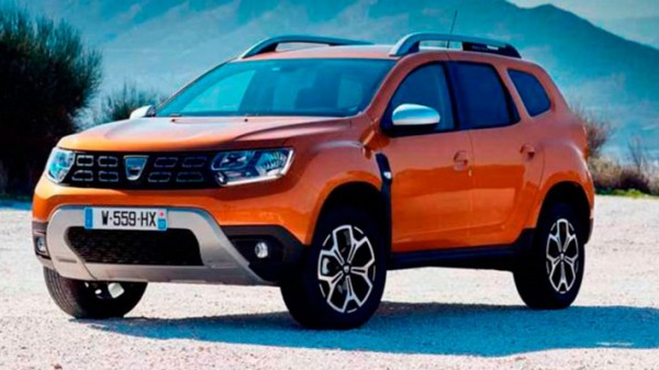 Dacia Duster, обновленный кроссовер