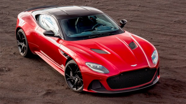 Aston Martin DBS Superleggera, суперкар
