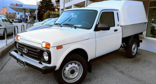 Lada Niva, переделан в пикап