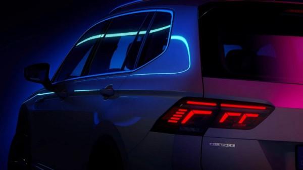Volkswagen Tiguan Allspace, тизер