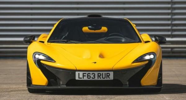 McLaren P1, самый первый