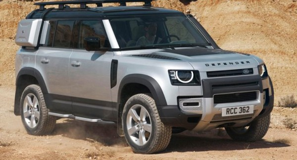 Land Rover Defender, внедорожник