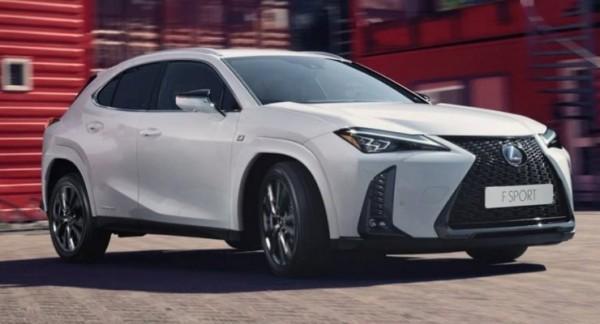 Lexus UX 250h 2022 года