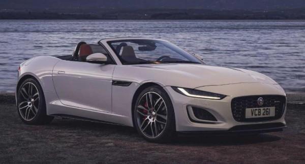 Jaguar F-Type 2022 года