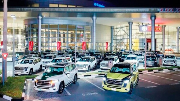 Toyota Land Cruiser 300, полиция ОАЭ