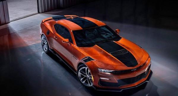 Chevrolet Camaro 2022 года