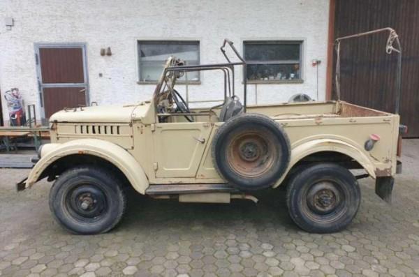 ГАЗ-69, советский внедорожник, военный