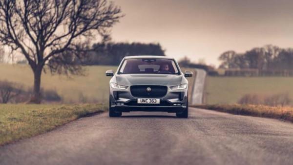 Jaguar I-Pace, кроссовер