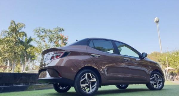 Hyundai Aura, обновленный