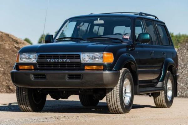 Toyota Land Cruiser 80 1994 года