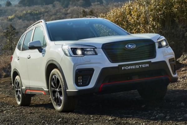 Subaru Forester, новая версия