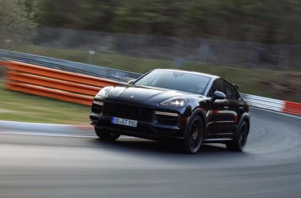 Porsche Cayenne Coupe, новый