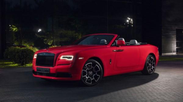 Rolls-Royce Dawn Eagle Rock Red