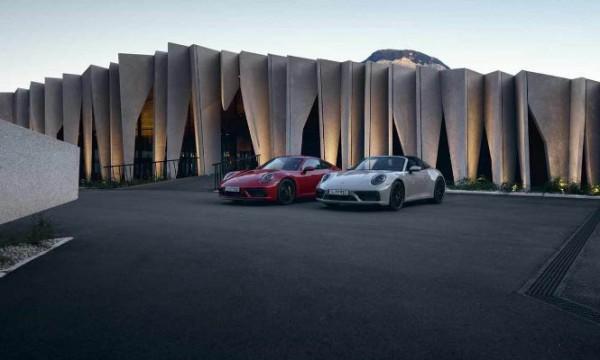 Porsche 911, модели 2022 года