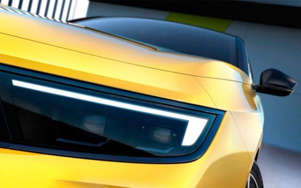 Opel Astra, новый, тизер