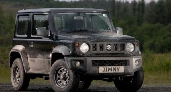 Suzuki Jimny LCV, грузовой отсек