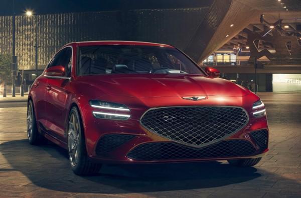 Genesis G70, обновленный седан