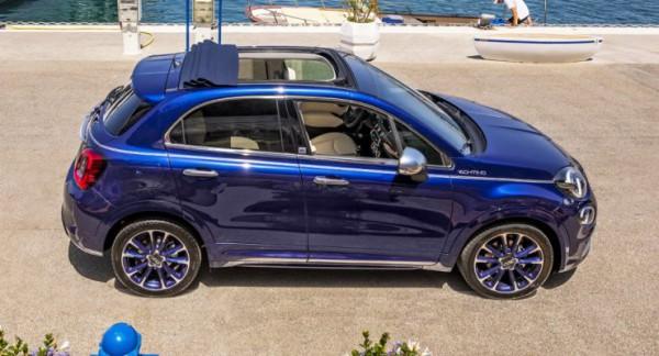 Fiat 500X, кабриолет