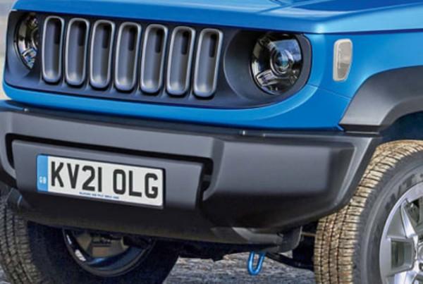 Jeep, бюджетный электрокар
