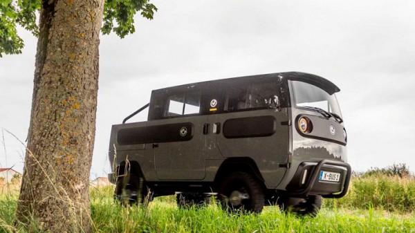 Xbus, компактный электромобиль