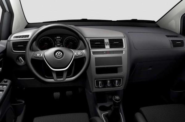 Volkswagen Fox, без мультимедийки