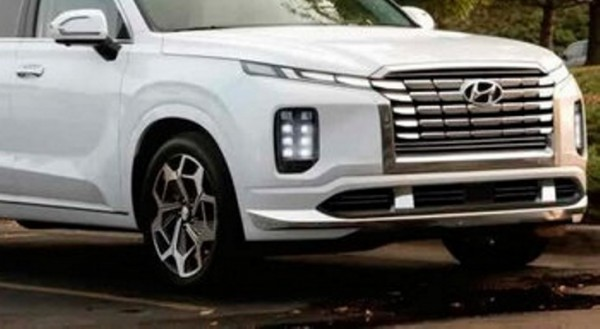 Hyundai Palisade, обновленный, рендер