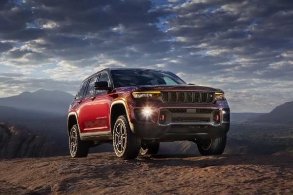 Jeep Grand Cherokee 2022, новый внедорожник