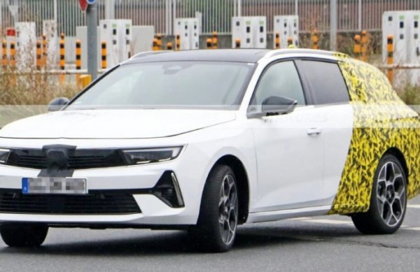Opel Astra Sports Tourer 2023, новый универсал