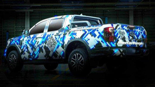 Ford Ranger, новый пикап