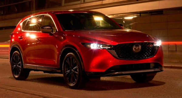 Mazda CX-5, кроссовер обновленный
